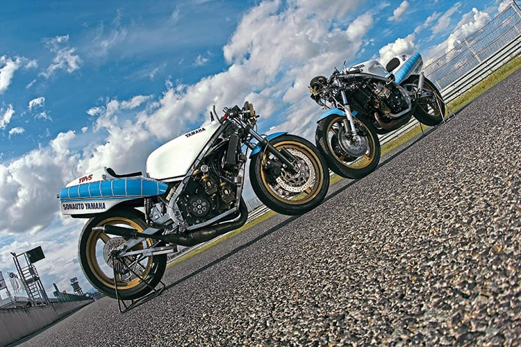 Yzr500 the ow60 family line classic racer for Yamaha sun classic parts