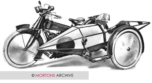 Douglas Special 1931 596cc overhead valve twin sidecar