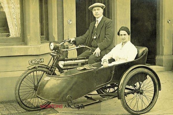 1913 Triumph sidecar
